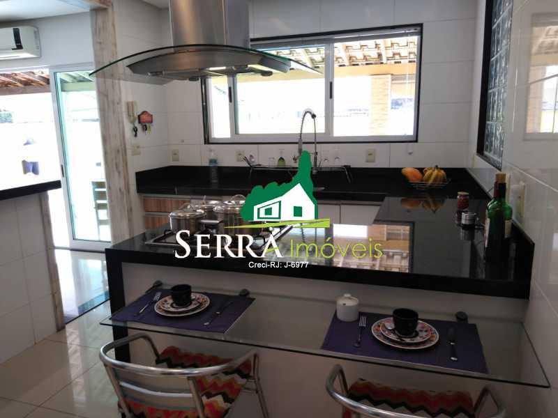 SERRA IMÓVEIS - Casa 3 quartos à venda Parque Fleixal, Guapimirim - R$ 650.000 - SICA30037 - 9