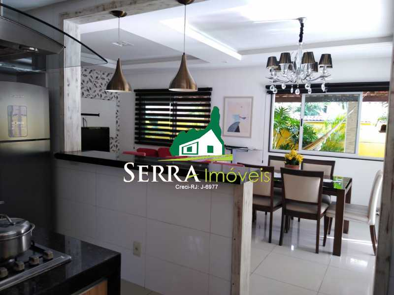 SERRA IMÓVEIS - Casa 3 quartos à venda Parque Fleixal, Guapimirim - R$ 650.000 - SICA30037 - 8