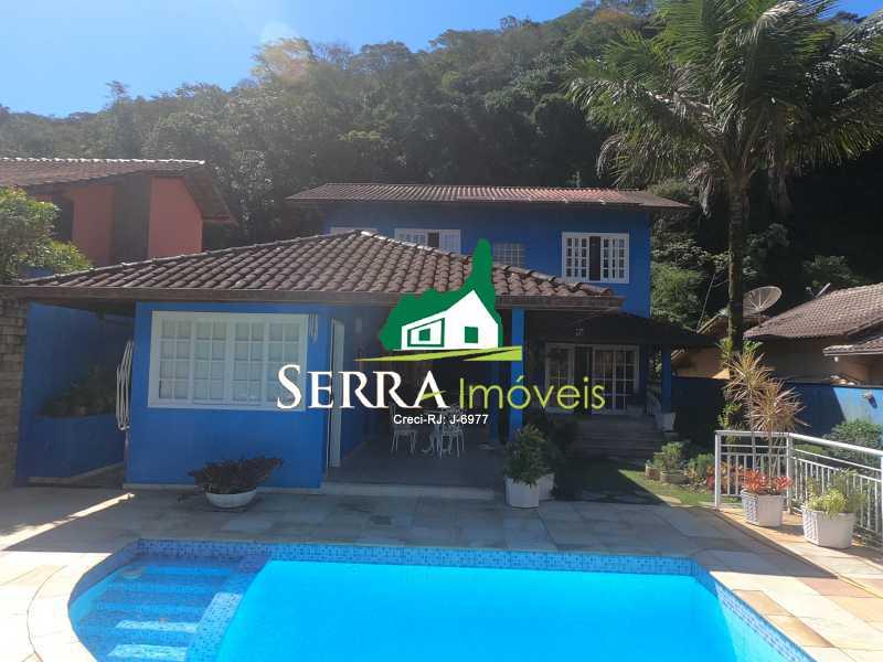 SERRA IMÓVEIS - Casa em Condomínio 4 quartos à venda Limoeiro, Guapimirim - R$ 1.800.000 - SICN40027 - 3