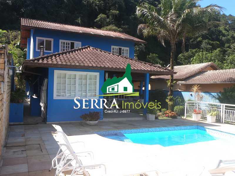 SERRA IMÓVEIS - Casa em Condomínio 4 quartos à venda Limoeiro, Guapimirim - R$ 1.800.000 - SICN40027 - 1