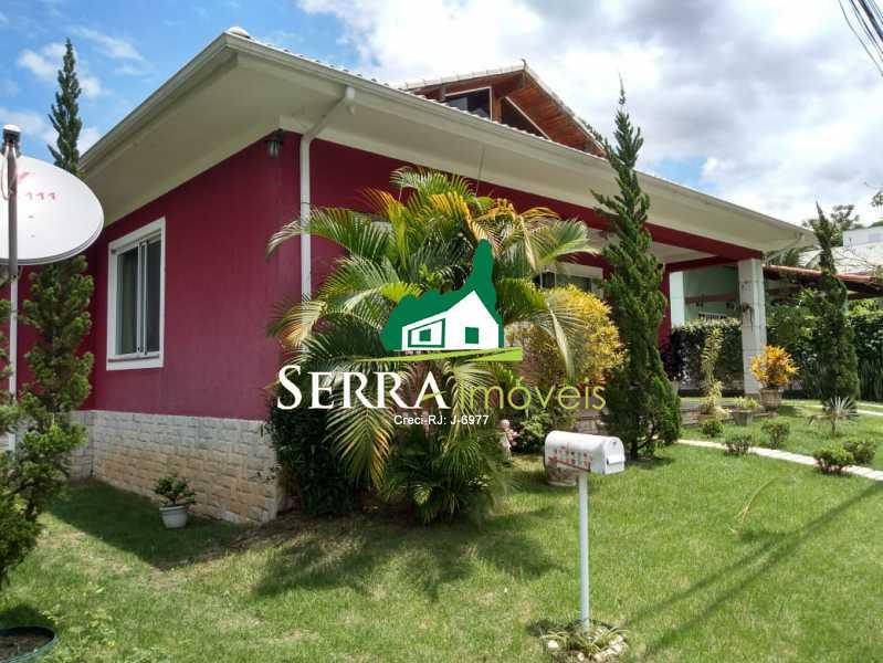 SERRA IMÓVEIS - Casa em Condomínio 4 quartos à venda Centro, Guapimirim - R$ 1.050.000 - SICN40028 - 1