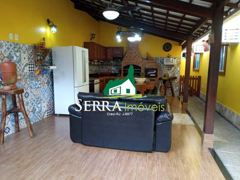 SERRA IMÓVEIS - Casa em Condomínio 3 quartos à venda Limoeiro, Guapimirim - R$ 610.000 - SICN30034 - 29