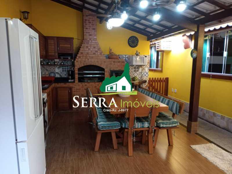 SERRA IMÓVEIS - Casa em Condomínio 3 quartos à venda Limoeiro, Guapimirim - R$ 610.000 - SICN30034 - 30