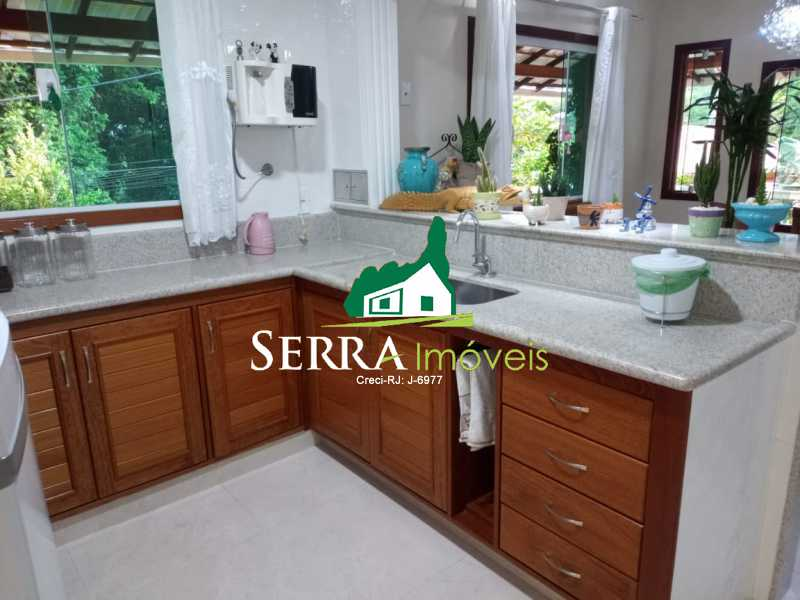 SERRA IMÓVEIS - Casa em Condomínio 3 quartos à venda Limoeiro, Guapimirim - R$ 610.000 - SICN30034 - 14