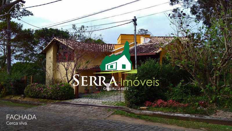SERRA IMÓVEIS - Casa em Condomínio 2 quartos à venda Limoeiro, Guapimirim - R$ 540.000 - SICN20014 - 1
