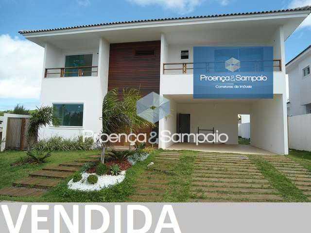 FOTO0 - Casa em Condomínio 4 quartos à venda Camaçari,BA - R$ 1.000.000 - PSCN40053 - 1