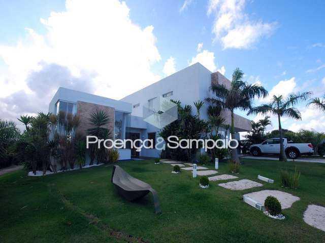 FOTO0 - Casa em Condomínio 4 quartos para venda e aluguel Camaçari,BA - R$ 1.900.000 - PSCN40048 - 1