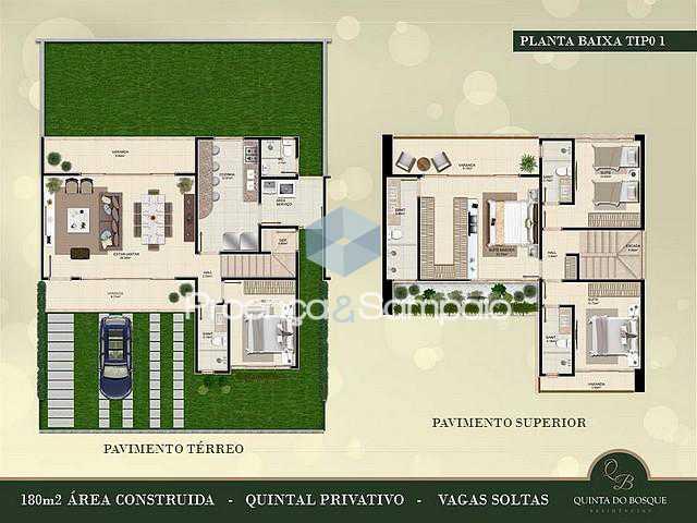 FOTO14 - Casa em Condomínio 4 quartos à venda Lauro de Freitas,BA - R$ 650.000 - PSCN40004 - 16