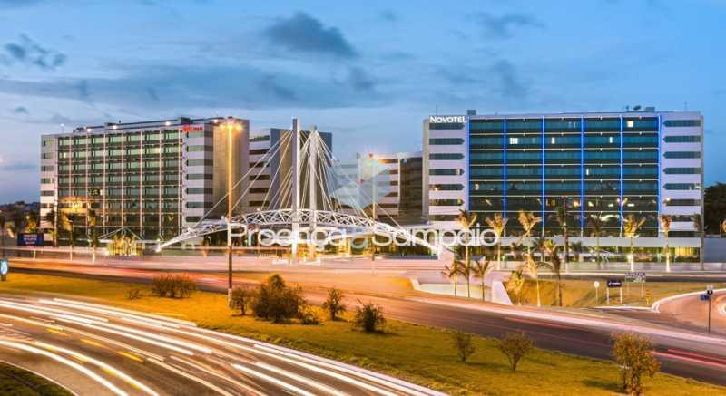 foto-da-fachada-hangar-busines - Sala Comercial 41m² à venda Salvador,BA - R$ 218.000 - PSSL00001 - 1