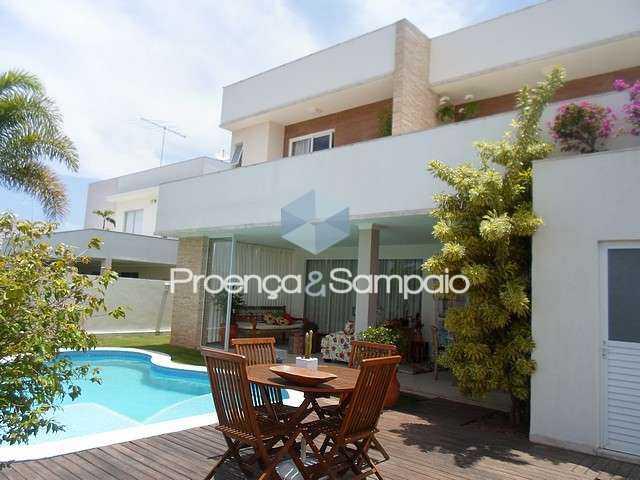 FOTO0 - Casa em Condomínio 4 quartos à venda Camaçari,BA - R$ 1.500.000 - PSCN40054 - 1