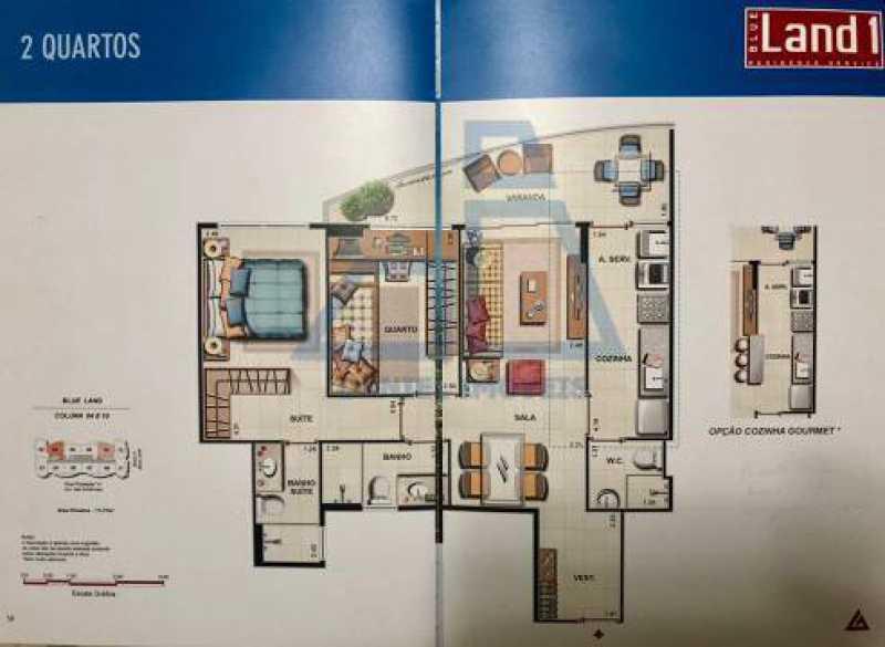 c297901cf351d0ab393ab6403964b3 - Apartamento 2 quartos à venda Barra da Tijuca, Rio de Janeiro - R$ 650.000 - DIAP20010 - 18