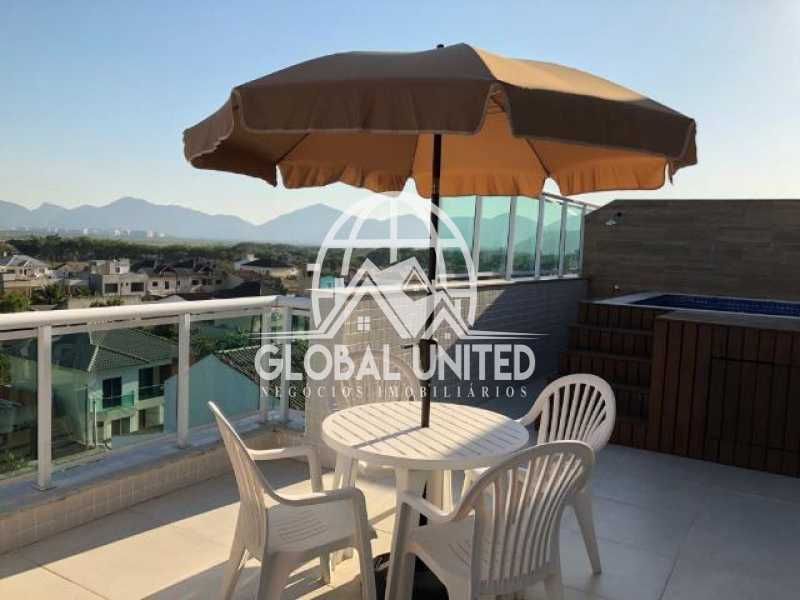 074824018245808 - Cobertura Condomínio Heaven, Rio de Janeiro, Recreio dos Bandeirantes, RJ À Venda, 3 Quartos, 123m² - RECO30006 - 5
