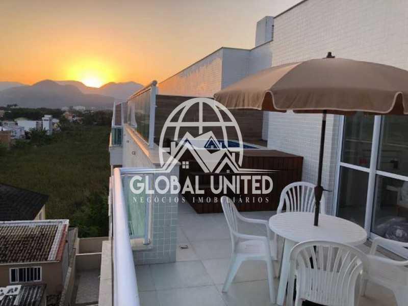 075824016769127 - Cobertura Condomínio Heaven, Rio de Janeiro, Recreio dos Bandeirantes, RJ À Venda, 3 Quartos, 123m² - RECO30006 - 4