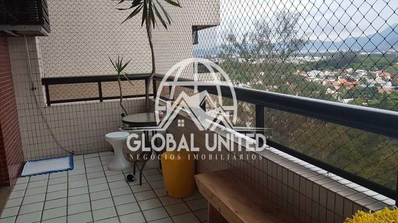 20171204_191739 - Apartamento Condomínio SANTA MÔNICA CLUB, Rua Desenhista Luiz Guimarães,Rio de Janeiro, Barra da Tijuca, RJ À Venda, 4 Quartos, 125m² - REAP40008 - 3