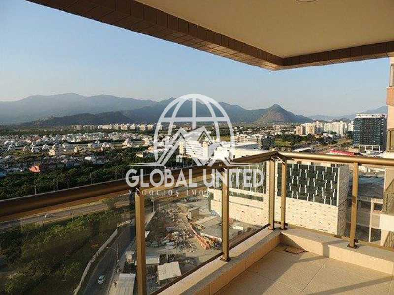 738822005754625 - Apartamento À Venda no Condomínio Choice - Barra da Tijuca - Rio de Janeiro - RJ - REAP30046 - 1