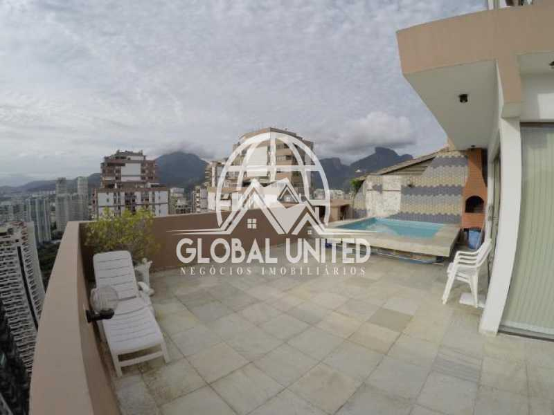 168811093338550 - Cobertura Para Alugar no Condomínio BARRAMARES - Barra da Tijuca - Rio de Janeiro - RJ - RECO50002 - 1