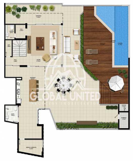 65ce991c-97fb-43a9-8540-f59099 - Apartamento Condomínio La Vista, Rua Monte Conselho,Salvador, Rio Vermelho, BA À Venda, 4 Quartos, 292m² - REAP40011 - 16