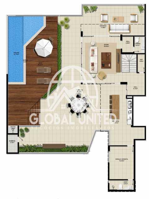 44629356-5ee0-4f05-90e6-6bdf01 - Apartamento Condomínio La Vista, Rua Monte Conselho,Salvador, Rio Vermelho, BA À Venda, 4 Quartos, 292m² - REAP40011 - 15