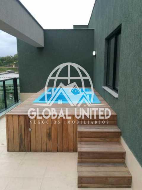 871822114027854 - Cobertura Para Alugar no Condomínio Scenarium Residence - Pechincha - Rio de Janeiro - RJ - RECO40007 - 1