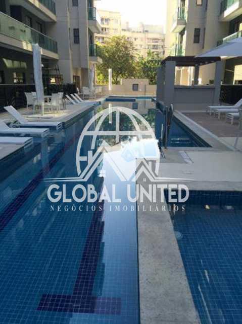 921827115432900 - Cobertura Para Alugar no Condomínio Scenarium Residence - Pechincha - Rio de Janeiro - RJ - RECO40007 - 18