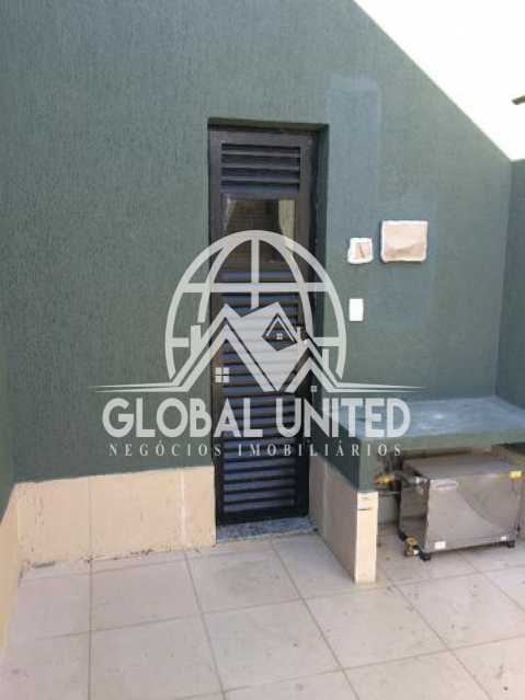 922827116115414 - Cobertura Para Alugar no Condomínio Scenarium Residence - Pechincha - Rio de Janeiro - RJ - RECO40007 - 6