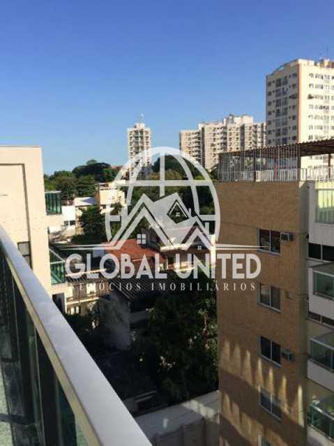 925827113664107 - Cobertura Para Alugar no Condomínio Scenarium Residence - Pechincha - Rio de Janeiro - RJ - RECO40007 - 4