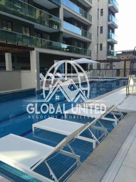 927827110976775 - Cobertura Para Alugar no Condomínio Scenarium Residence - Pechincha - Rio de Janeiro - RJ - RECO40007 - 20