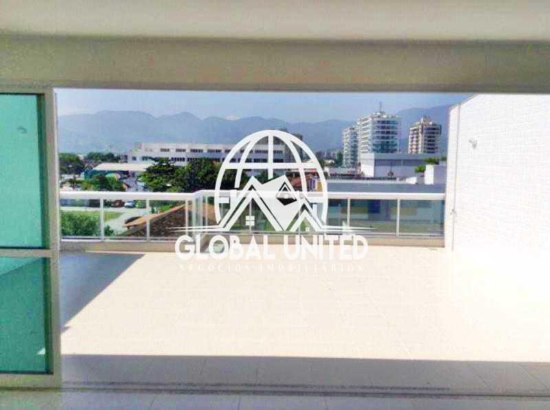 3 varandao - Cobertura no Recreio dos Bandeirantes - RECO30014 - 4