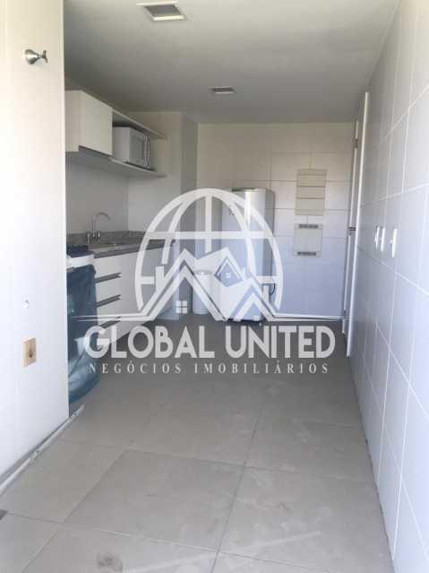 5 - Apartamento Avenida das Américas,Rio de Janeiro, Recreio dos Bandeirantes, RJ Para Alugar, 2 Quartos, 79m² - REAP20160 - 6