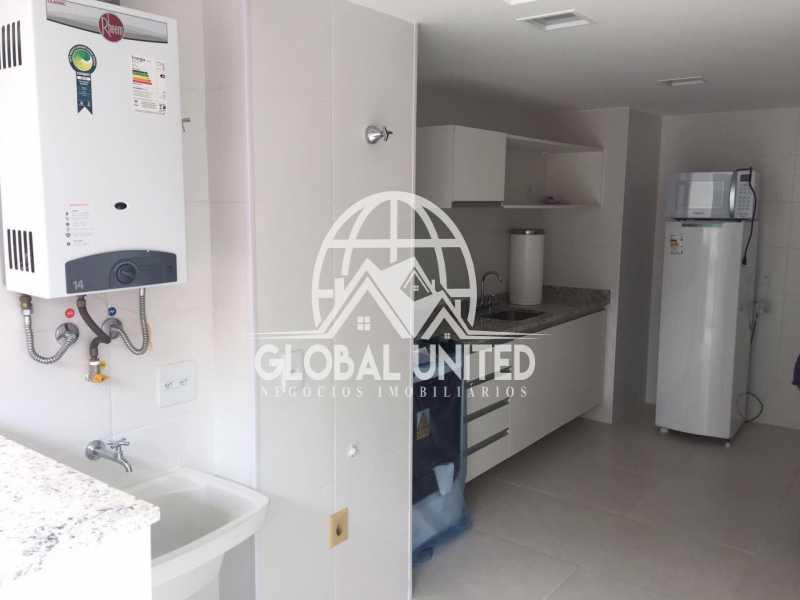 7 - Apartamento Avenida das Américas,Rio de Janeiro, Recreio dos Bandeirantes, RJ Para Alugar, 2 Quartos, 79m² - REAP20160 - 8