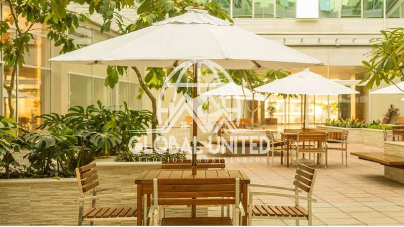 praça interna - sala comercial one office recreio - RESL00037 - 4
