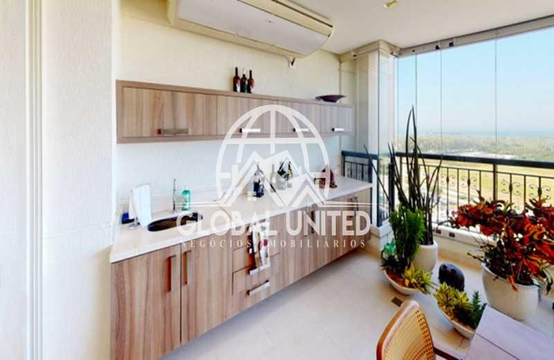 3.1  Varanda Gourmet - Apartamento Rio de Janeiro, Barra da Tijuca, RJ Para Venda e Aluguel, 4 Quartos, 435m² - REAP40019 - 5