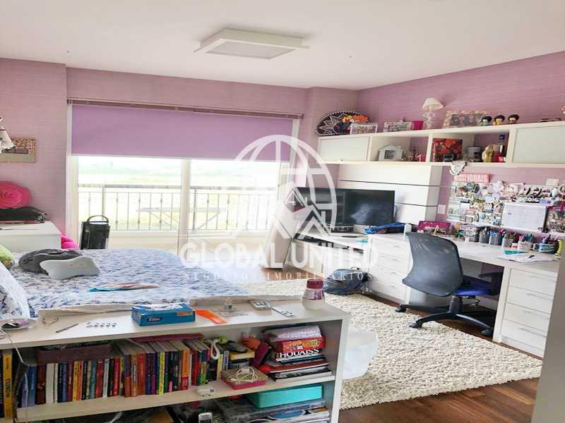14 Suite 2. - Apartamento Rio de Janeiro, Barra da Tijuca, RJ Para Venda e Aluguel, 4 Quartos, 435m² - REAP40019 - 17