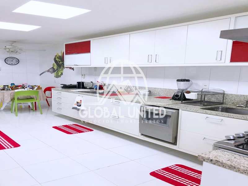 25 Cozinha. - Apartamento Rio de Janeiro, Barra da Tijuca, RJ Para Venda e Aluguel, 4 Quartos, 435m² - REAP40019 - 27