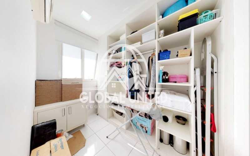 28 Dependência Empregada - Apartamento Rio de Janeiro, Barra da Tijuca, RJ Para Venda e Aluguel, 4 Quartos, 435m² - REAP40019 - 30