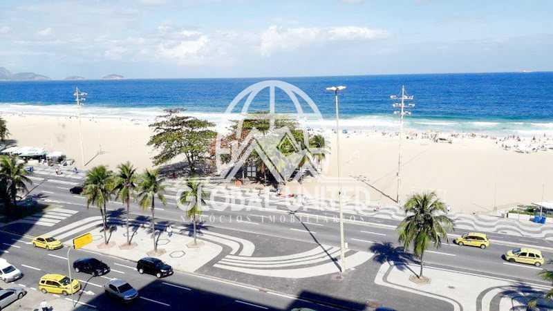 Foto2 - locação copacabana av. atlântica 350m2 3qts armários 1vg - REAP30082 - 3