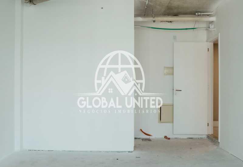 sala-comercial-5 - locação andar sala comercial worldwide 1a locação contrapiso - REAN00001 - 7
