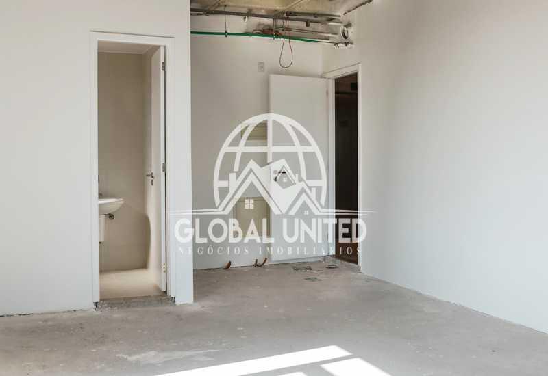 sala-comercial-27 - locação andar sala comercial worldwide 1a locação contrapiso - REAN00001 - 13