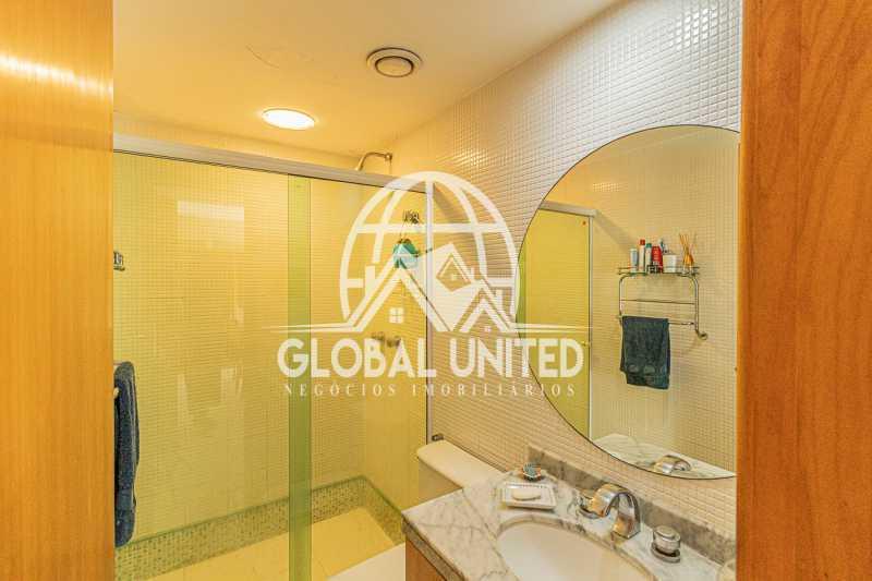 Banheiro Suite , Mundo novo, B - VENDA BARRA DA TIJUCA MUNDO NOVO 3QTS 1ST ANDAR ALTO VISTÃO ARMÁRIOS 2VGS - REAP30091 - 15