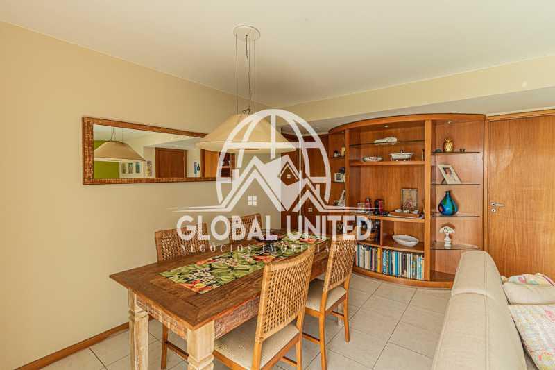 Sala de Jantar vista 4, Mundo  - VENDA BARRA DA TIJUCA MUNDO NOVO 3QTS 1ST ANDAR ALTO VISTÃO ARMÁRIOS 2VGS - REAP30091 - 9