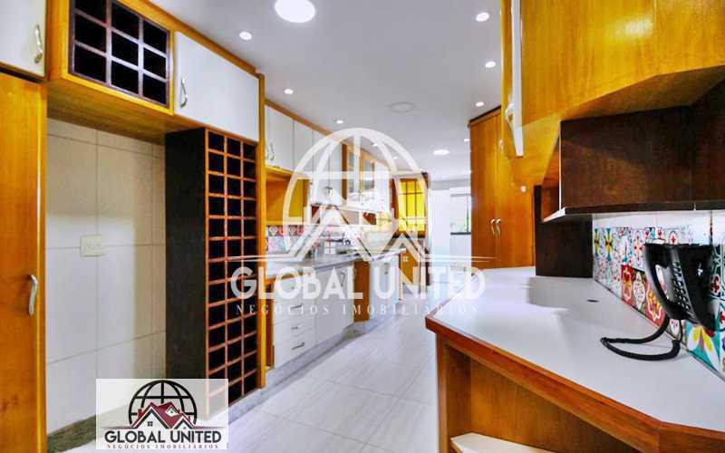19cozinha - Aluguel Venda Recreio Cobertura Duplex Piscina Finamente Decorada Salas 4qts 2sts Armários Planejados Dependência - RECO40011 - 22