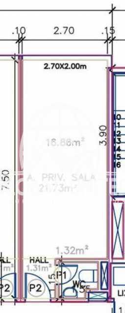 foto2 - Venda Recreio Sala Comercial A4 Offices 22m2 com Lavabo 1vaga - RESL00045 - 6