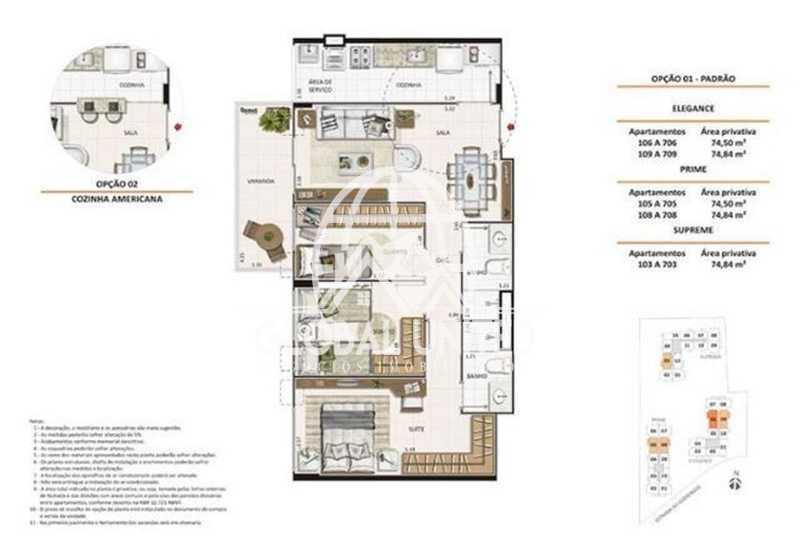 030005160571940 - Venda Taquara Evidence Quality 3qts 1st Sol Manhã Cozinha Planejada Total Infra - REAP30094 - 13