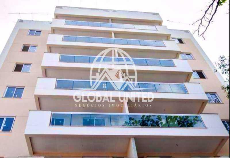 fachada2 - Venda Taquara Evidence Quality 3qts 1st Sol Manhã Cozinha Planejada Total Infra - REAP30094 - 3