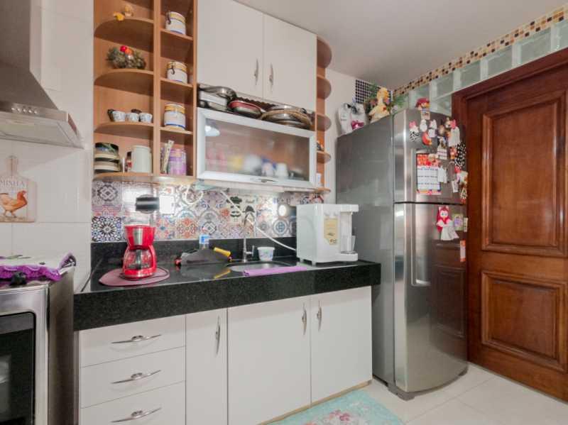Cozinha 4 - Casa Triplex Geminada com 130m² na Rua Jose Silva, Pechincha - RECA30006 - 1