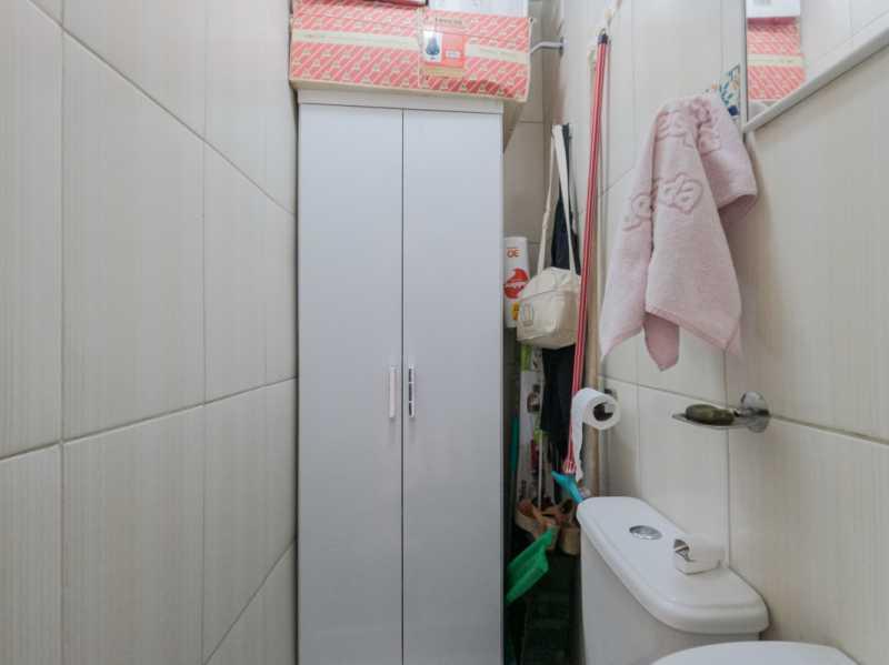 Suite1 8 - Casa Triplex Geminada com 130m² na Rua Jose Silva, Pechincha - RECA30006 - 15