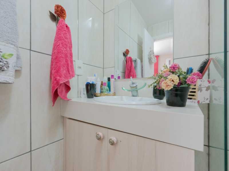 Suite2 6 - Casa Triplex Geminada com 130m² na Rua Jose Silva, Pechincha - RECA30006 - 17