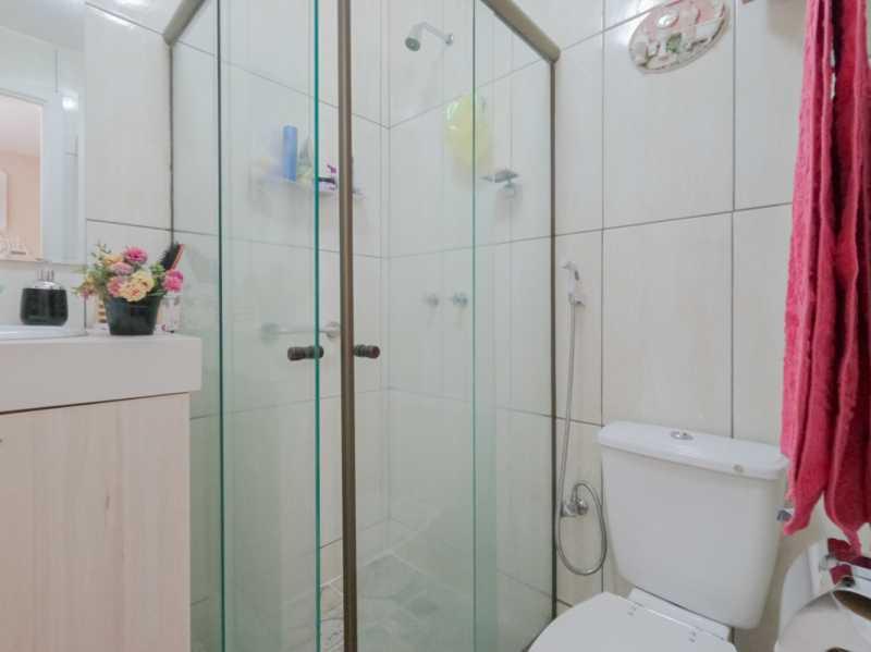 Suite2 7 - Casa Triplex Geminada com 130m² na Rua Jose Silva, Pechincha - RECA30006 - 18