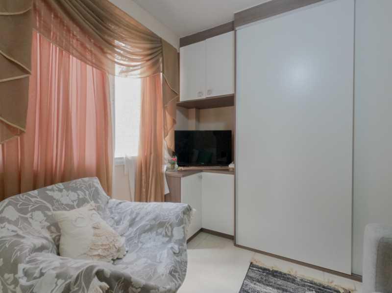 Suite3 4 - Casa Triplex Geminada com 130m² na Rua Jose Silva, Pechincha - RECA30006 - 19