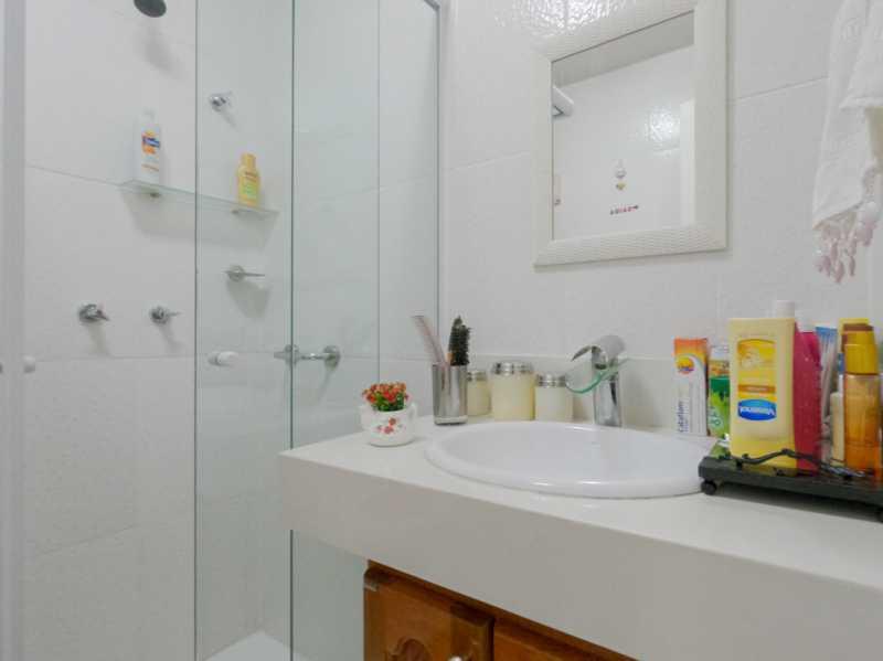 Suite3 6 - Casa Triplex Geminada com 130m² na Rua Jose Silva, Pechincha - RECA30006 - 20